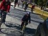 Marcha en bici por la paz